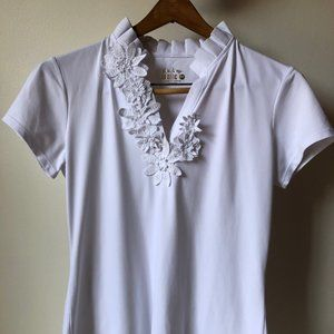 STILL AVAILABLE! Lilly Pulitzer Flower Polo
